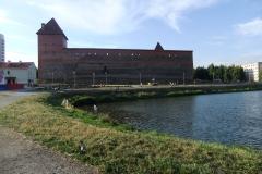 Замок от пруда