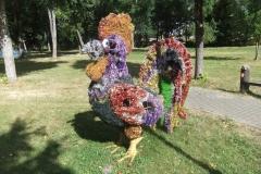 фигуры в парке 3